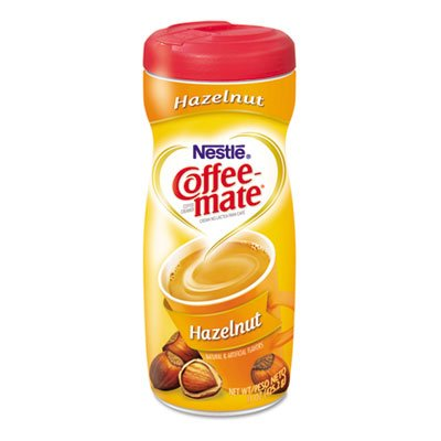Coffee-Mate Hazelnut Creamer Powder, 15-Oz Plastic Bottle