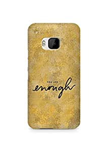 AMEZ you are enough Back Cover For HTC One M9