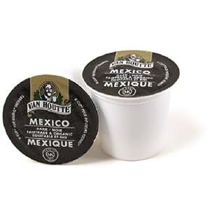Van Houtte Cafe Mexico, Fair Trade & Organic Dark Roast Coffee, 24-Count K-Cups for Keurig Brewers (Pack of 2)