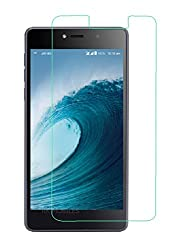 RKMOBILES Tempered Glass, 9H Hardness Ultra Clear, Anti-Scratch, Bubble Free, Anti-Fingerprints & Oil Stains Coating For Reliance Jio LYF 4G Water 1