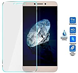 Pudini Toughened Premium Tempered Glass Screen Protector (9H & 2.5D Curved) for LeTV Le 1s / LeEco Le 1s / LeEco Le 1s Eco