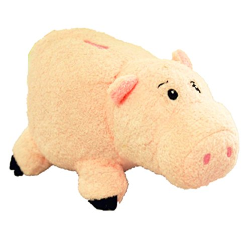 EUC Disney Store Toy Story Hamm Ham the Piggy Bank Pig Plush 7'' Doll by Natorytian - 1