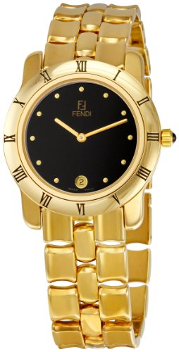 Fendi Womens FE86110 Black Dial Watch