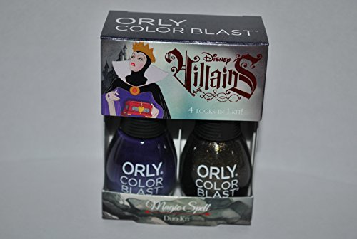 Orly Color Blast Disney Villains Evil Queen Duo Kit - Magic Spell (Disney Villains Nail Polish compare prices)