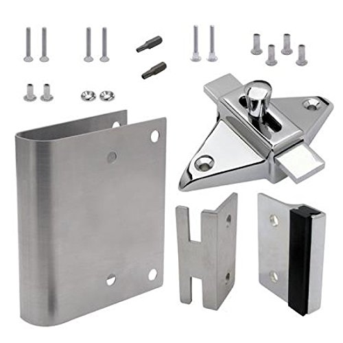 Tph Supply Bathroom Partition Door Fix It Kit Converts Concealed Latch Operation To Slide