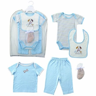 Hudson Baby Gift Collection, 6 Piece, Boy, 0-3 Months front-963626