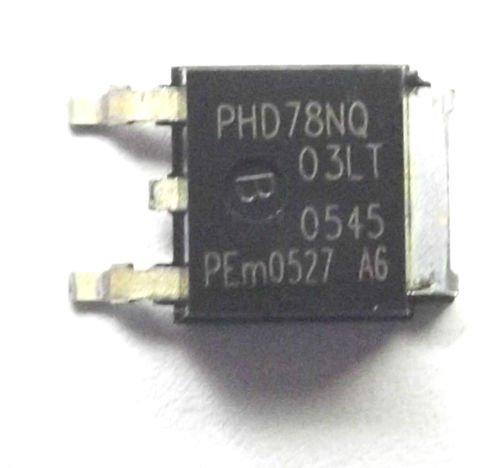 nxp-philips-phd78nq03lt-phd78nq-trans-mosfet-n-ch-25-v-75-a-3-broches-dpak