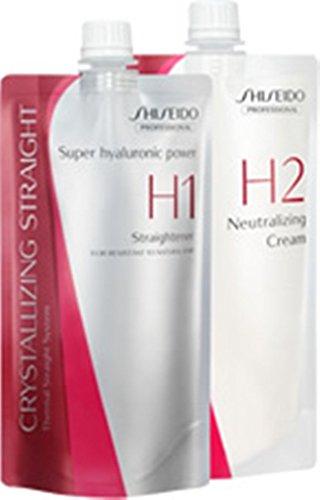 Shiseido Crystallizing Straight For Coarse Or Resistant Hair H1+2