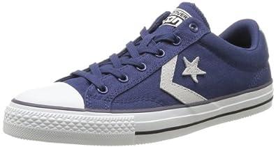 Converse Star Player Core Ox, Baskets mode mixte adulte - Bleu (Bleu/Gris), 36 EU