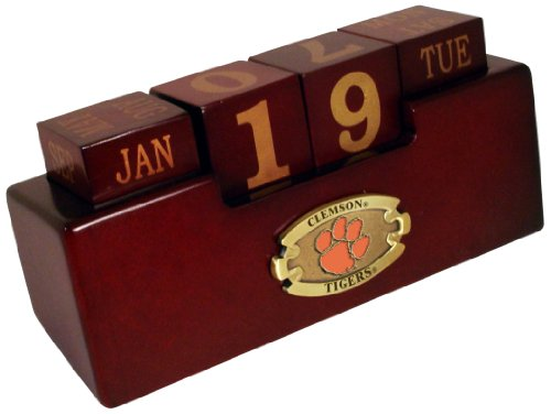 NCAA Alabama Crimson Tide Wood Perpetual Calendar at Amazon.com