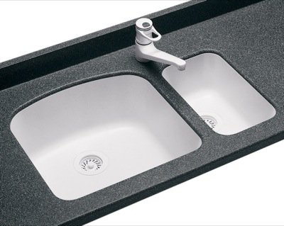 Swanstone granite sinks may 2012 for Swanstone undermount sinks