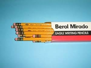 Amazon Com Berol Mirado Eagle Writing Pencils 174 1