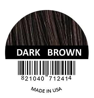 DARK BROWN Samson Best Hair Loss Concealer Building Fibers Refill Kit