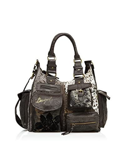 Desigual Bolso London Puntilla Mar