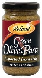 Roland: Green Olive Paste 6.5 Oz (12 Pack)