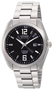 Citizen Men's BM7080-54E Eco Drive Titanium Watch
