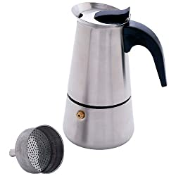 Chefs Secret? 4-Cup Heavy-Gauge Stainless Steel Espresso Maker made by Charlie