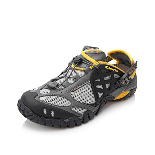 Clorts Men's Water 60% Mesh/ 40% PU Athletic Water Shoes