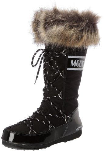 Moon Boot W.E. Monaco Scarpe sportive outdoor, Donna, Nero, 39