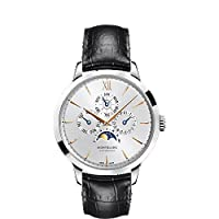 Montblanc Meisterstuck Heritage Perpetual Calendar White Dial Black Leather Unisex Watch 110715 by MontBlanc