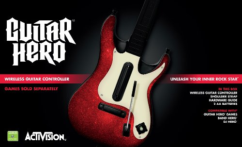 Xbox 360 Guitar Hero 5 Stand-Alone Guitar