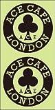 【純正ステッカー】ACE CAFÉ LONDON デカール・サークル・BK・50Φx2枚入り