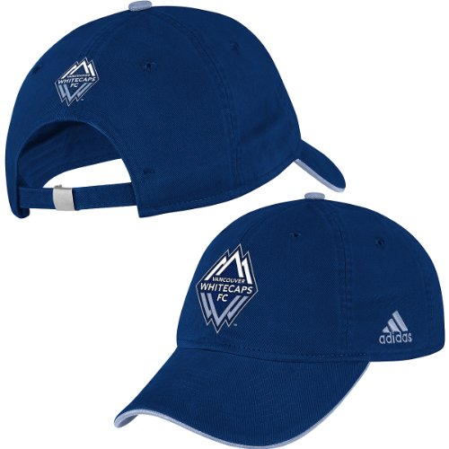 Adidas Mls Vancouver Whitecaps Women's Slouch Adjustable Hat One Size Fits All