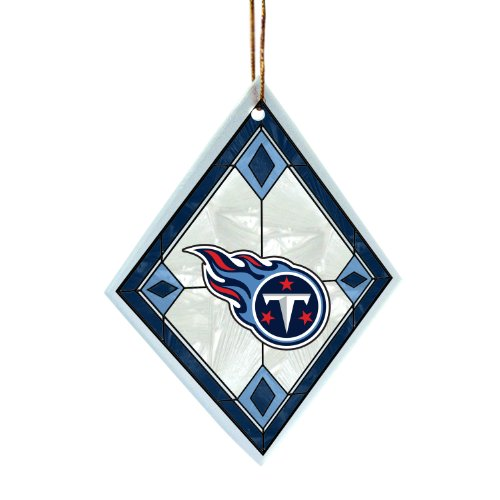 NFL Tennessee Titans Art Glass Ornament at Amazon.com
