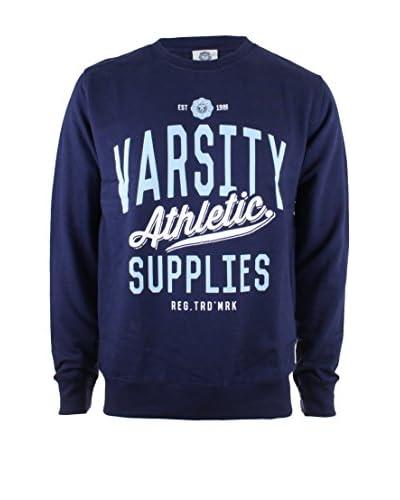Varsity Team Players Sudadera Athletic Supplies Azul Marino XL