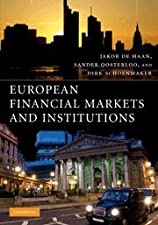 Financial Markets and Institutions A European Perspective by de