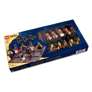 LEGO board game: Pirates Tic Tac Toe!