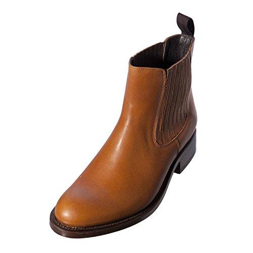 Sancho in pelle Chelsea Uomo Stivali cowboy Boot (vw10780), (CUERO SOFTY GRAS), 44 EU