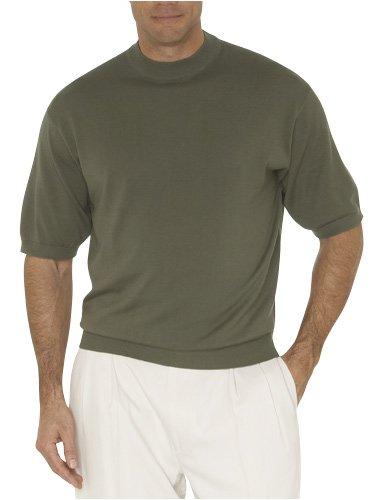 Pronto Uomo Silk/Cotton Short Sleeve Mock-Neck - Buy Pronto Uomo Silk/Cotton Short Sleeve Mock-Neck - Purchase Pronto Uomo Silk/Cotton Short Sleeve Mock-Neck (Pronto Uomo, Pronto Uomo Sweaters, Pronto Uomo Mens Sweaters, Apparel, Departments, Men, Sweaters, Mens Sweaters, Turtlenecks, Mens Turtleneck Sweaters, Turtleneck Sweaters)