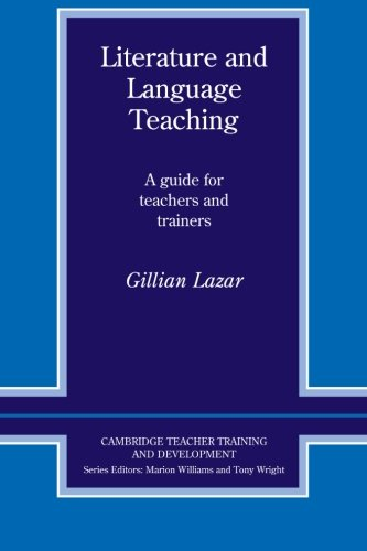 Literature and Language Teaching: A Guide for Teachers...