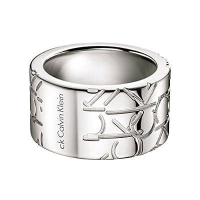 Calvin Klein Jewelry Logo Men's Ring KJ19BR010112