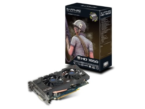 SAPPHIRE Radeon ビデオカード HD7850 2G GDDR5 PCI-E 日本正規代理店品 SAHD785-2GD5R001