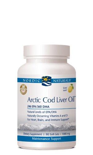 Arctic Cod Liver Oil (Lemon) 90 Softgels