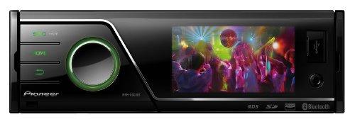 MVH-8300BT 1-DIN Moniceiver (7,6 cm (3 Zoll) Display, AUX-In, Bluetooth, SD-Kartenslots, USB 2.0) schwarz