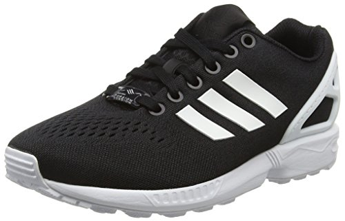 adidas Unisex-Erwachsene ZX Flux EM Sneakers, Schwarz (Core Black/Ftwr White/Core Black), 42 EU
