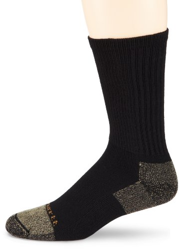Carhartt Men's Steel Toe Cotton Crew Work Socks