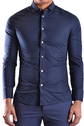 dirk-bikkembergs-mens-mcbi097013o-blue-cotton-shirt