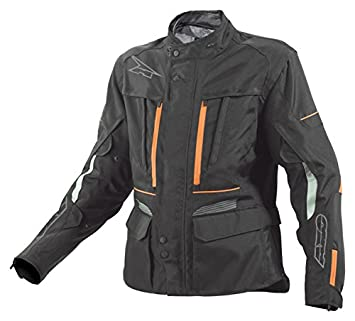AXO MS6T0133-KO Kalahari Veste, Taille XL, Noir/Orange