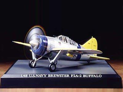 スケール限定シリーズ 1/48 ブリュースター F2A-2 バッファロー 89581
