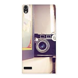 Ajay Enterprises Fill Pastel Camera Back Case Cover for Ascend P6