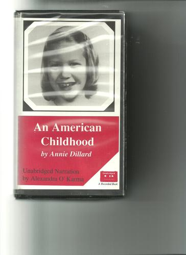 an american childhood style annie dillard Annie dillard has an odd style  i have real trouble believing anyone's childhood was idyllic as the world described in annie dillard's an american childhood.