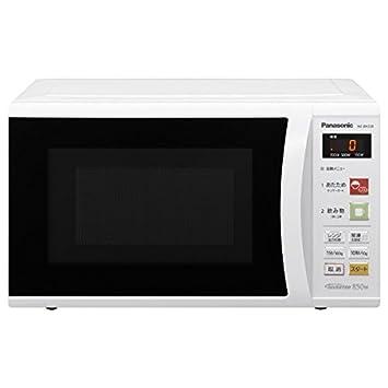 【クリックでお店のこの商品のページへ】Panasonic 単機能レンジ 22L ホワイト NE-EH228-W: ホーム&キッチン