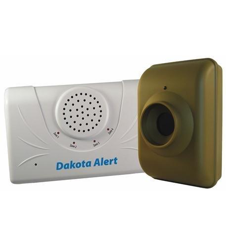 Dakota Alert DCMA-2500 Driveway Motion Alert 2500′ Kit (Green White)