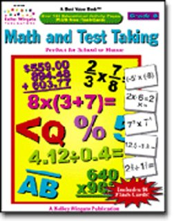 CARSON DELLOSA MATH AND TEST TAKING GR. 8KELLY WINGATE - 1