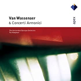 Van Wassenaer : Concerto No.2 in B flat major : I Andante