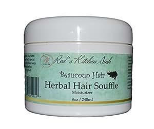 Amazon Com Beaucoup Hair Herbal Hair Souffle Moisturizer